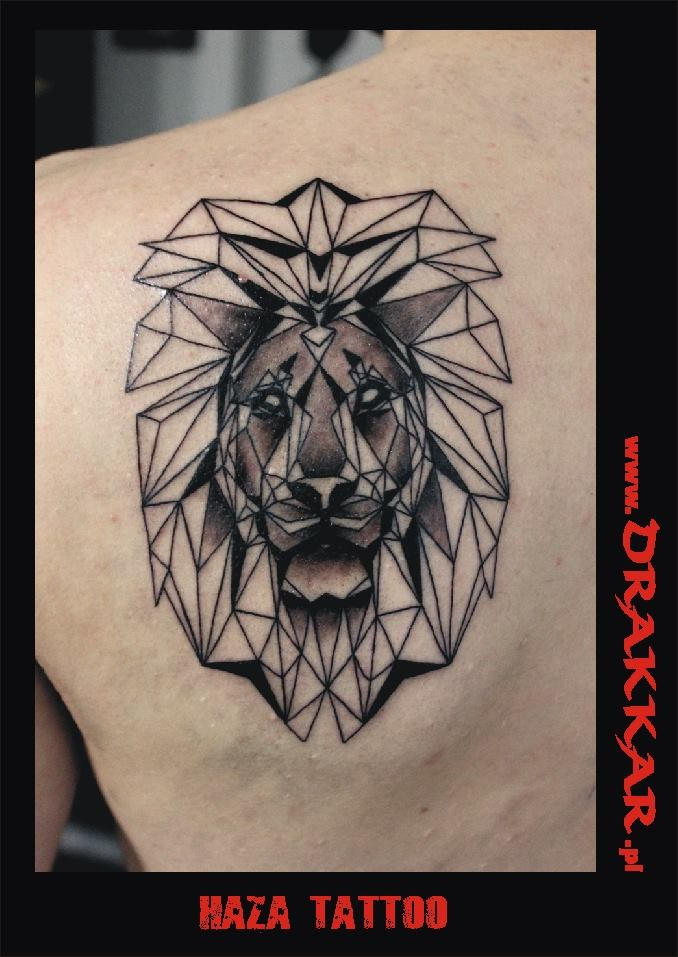 tatuaż lew, studio zaprasza do Gliwic