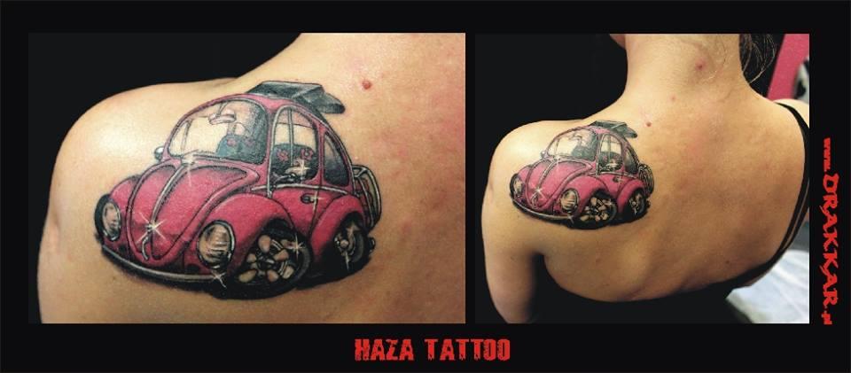 Gliwice, motyw tatuażu