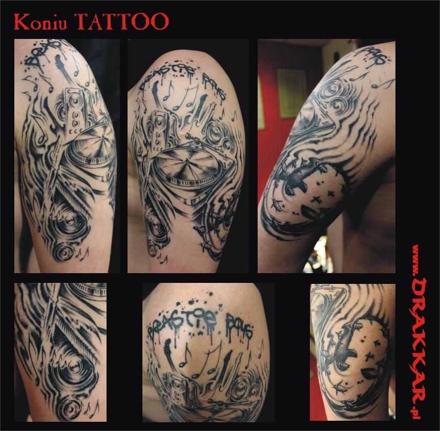 tatuaż na przedramieniu, Gliwice