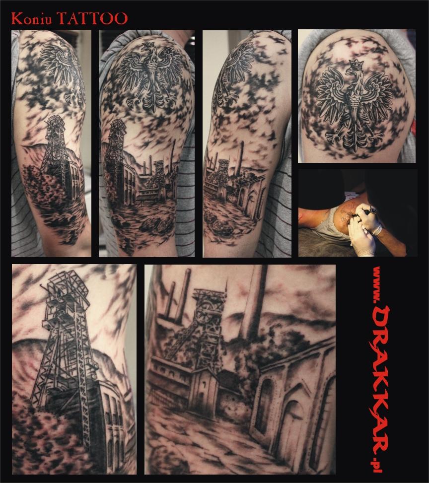 rozbudowane tatuaże, Gliwicach