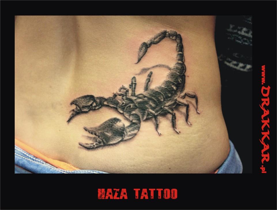 tatuaż ze skorpionem, Gliwice