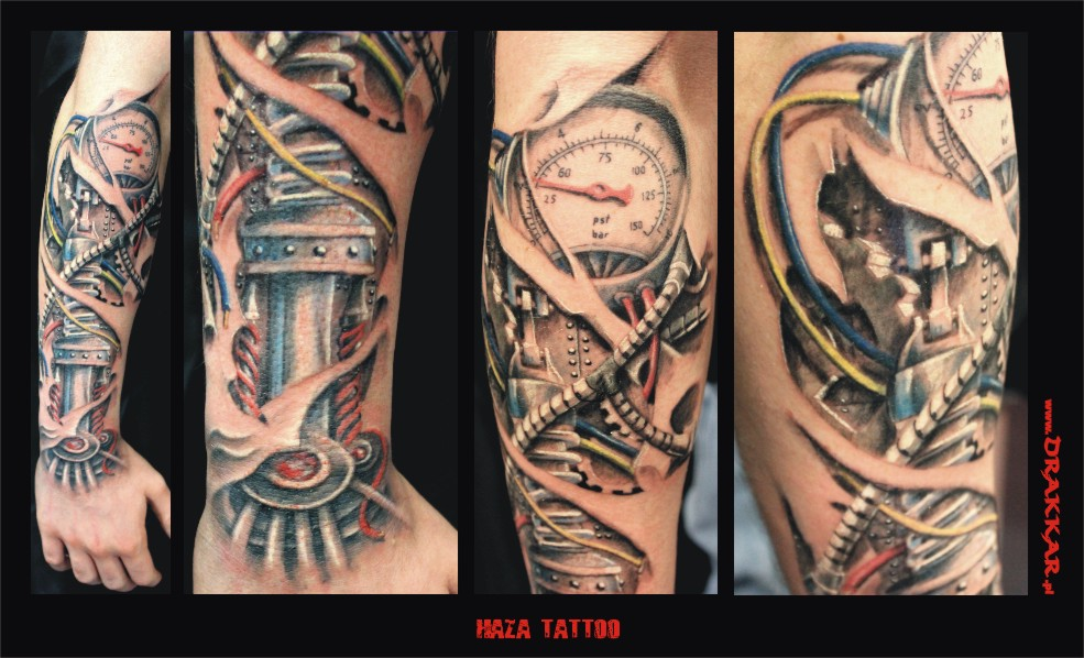 studio tatuażu Śląsk - oryginalny tatuaż