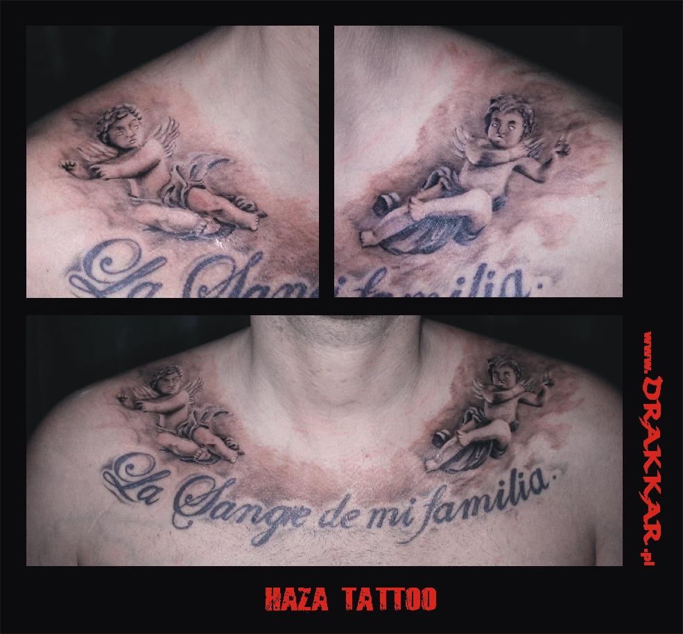 Haza Tatoo, studio tatuażu, Tarnowskie Góry