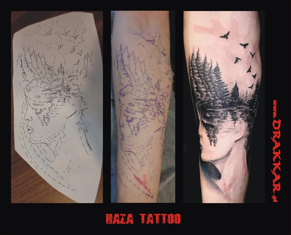 Haza tatoo, studio tatuażu Drakkar z Gliwic