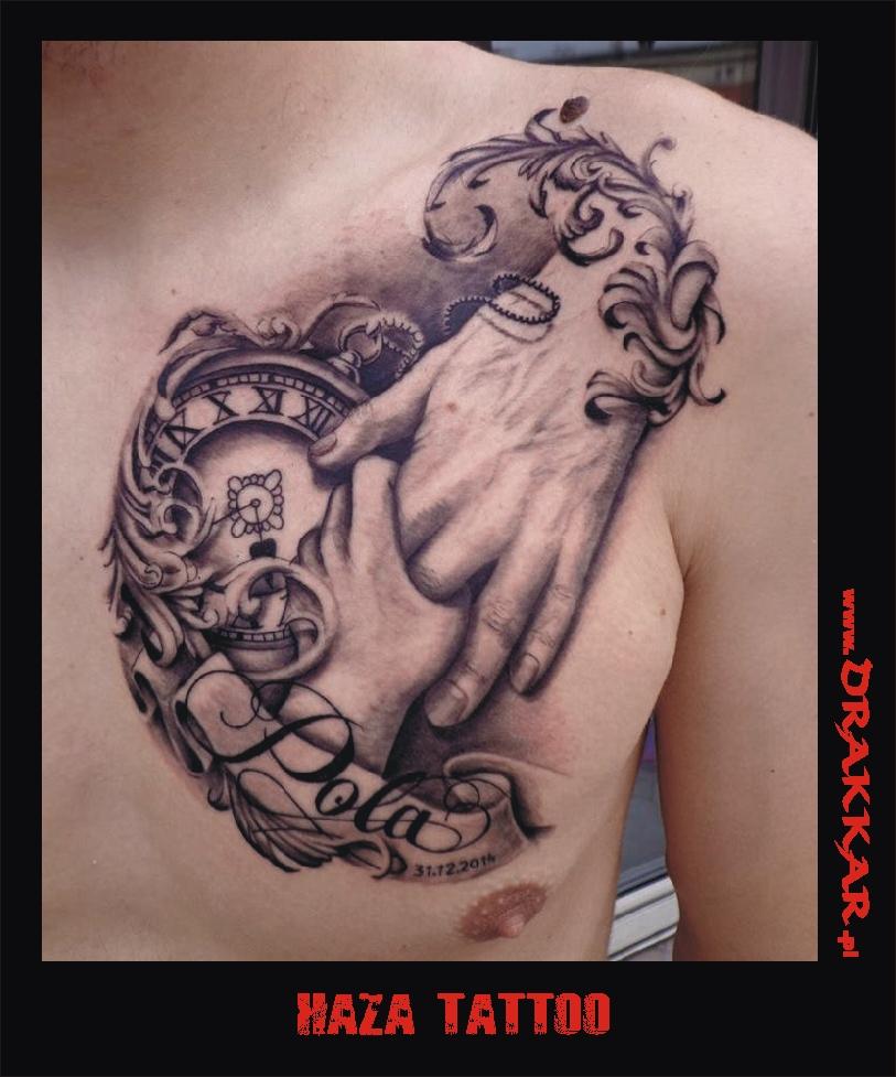 tatuaż haza brat, Gliwic