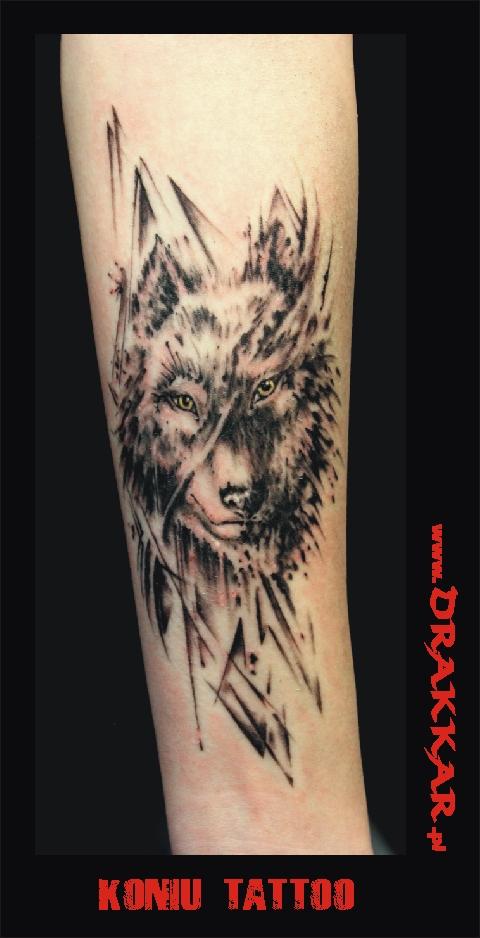 tatuaż z wilkiem, Śląsk